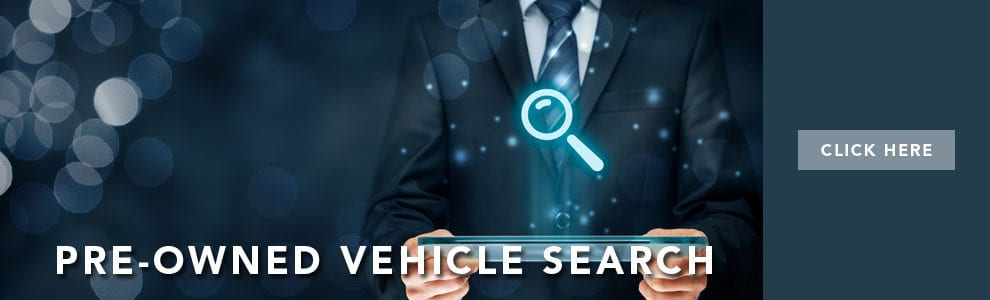 Pre-owned vehicle search
